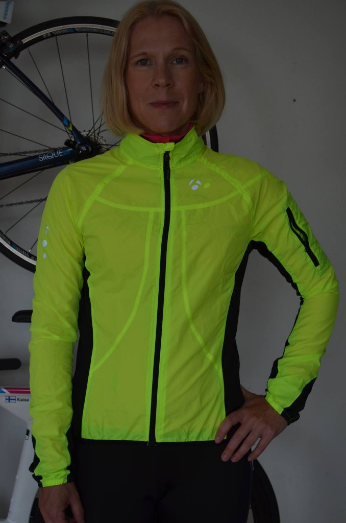 Takki Bontrager Race Windshell, Visibility Yellow