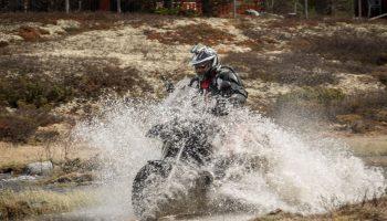 Moottoripyörällä Norjaan