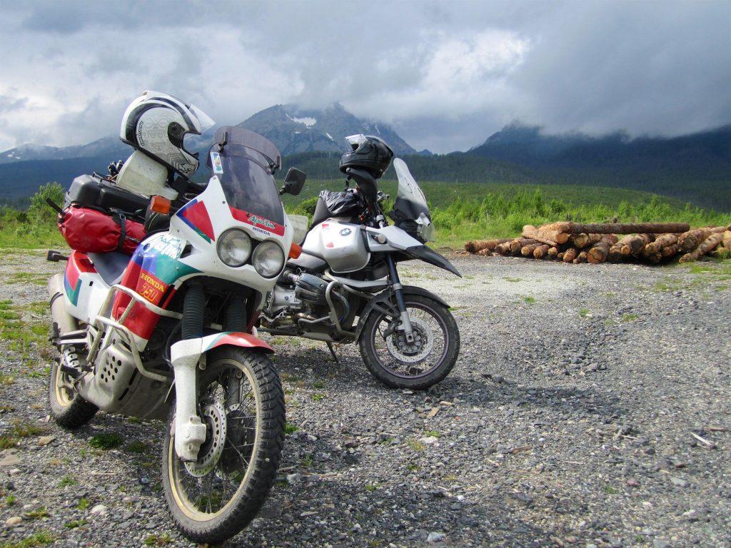 moottoripyörämatkan suunnittelu
