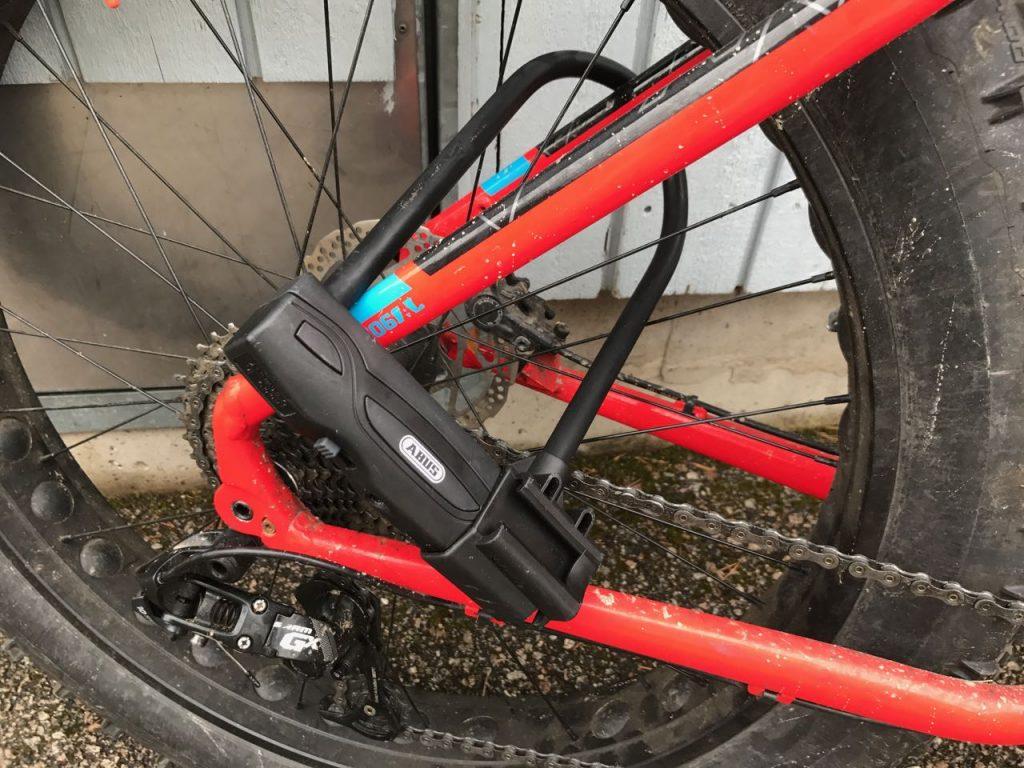 Polkupyörän lukitus