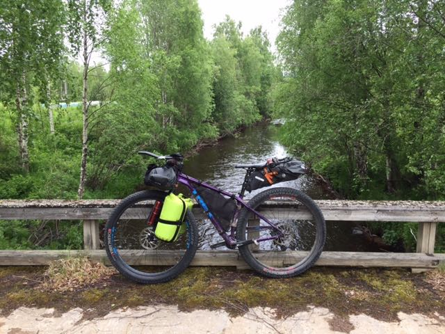 Bikepacking Turku-Rovaniemi