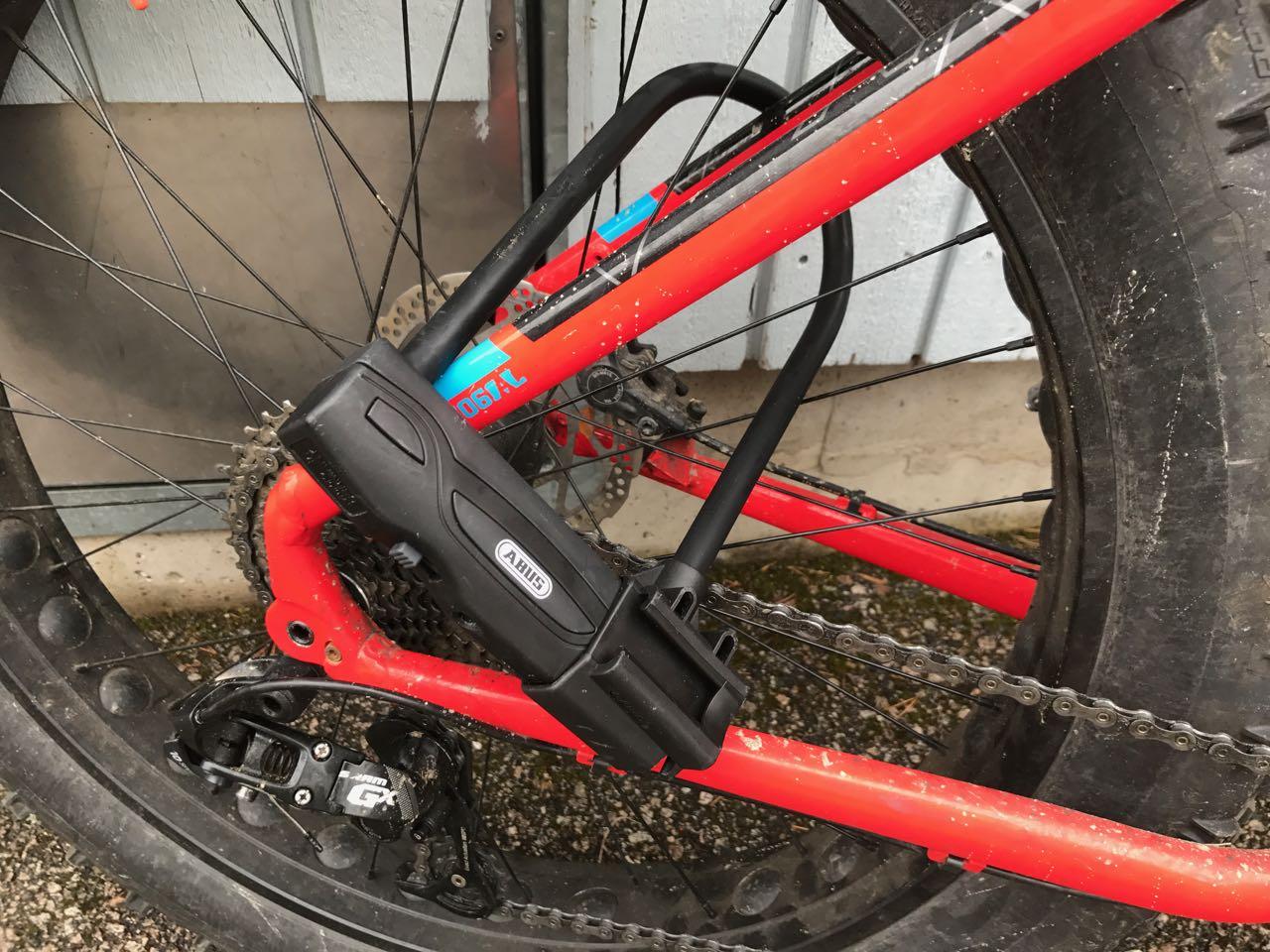Polkupyörän Lukko Testi